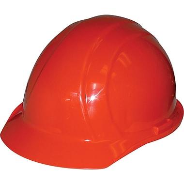 Liberty® – Casques dur, ajustement à cliquet, homologué CSA Type 1, classe E, ANSI Type I, orange