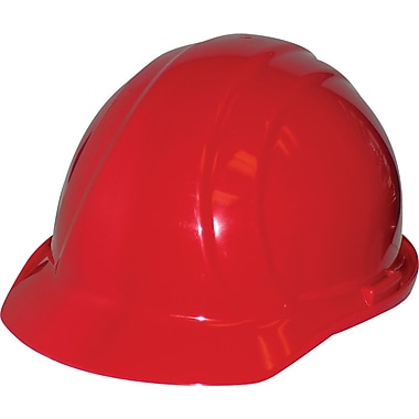 Liberty® Hard Hats, CSA Type 1, Mega Ratchet, Class E Certified, ANSI Type I, Red