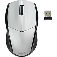 Staples Wireless Mouse (Silver)