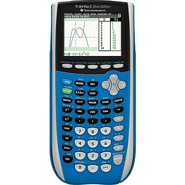 Texas InstrumentsTI-SEC84+ Color Screen Graphing Calculator Blue