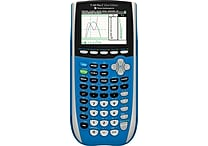 Texas Instruments TI-SEC84 Color Screen Graphing Calculator, Blue