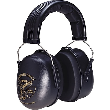 TASCO Golden Eagle Stainless Steel Headband Earmuffs