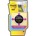 Post-it® Super Sticky Full Adhesive 3in. x 3in. Line-Ruled Pastel Notes, 4 Pads/Pack
