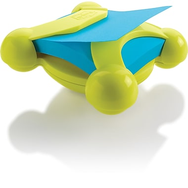 Post-it® Pop-Up Spin Dispenser, Green