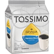Tassimo Gevalia Signature Blend Coffee, Regular, 16 T-Discs/Pack