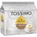 Tassimo Gevalia Cappucino, 8 Creamer + 8 Espresso T-Discs/Pack