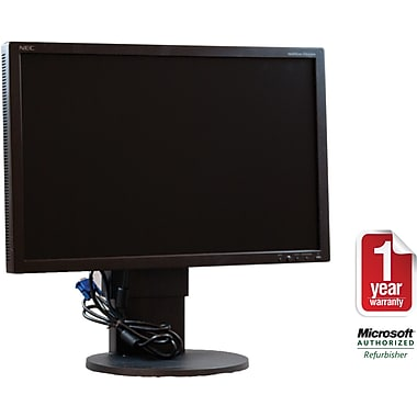 NEC Mixed 24in. Refurbished LCD Monitor
