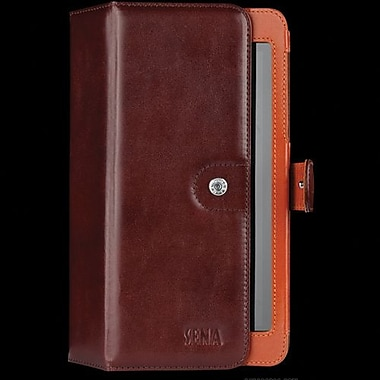 Sena Leather Folio For Asus Google Nexus 7, Brown