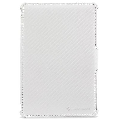 Scosche® follO m1 Carbon Fiber Folio W/Multiple Viewing Angles For iPad Mini, White