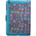 Speck® FitFolio Hard Case & Cover For iPad Mini, PowerOwl Teal/Peacock Blue