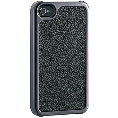 Ozaki® iCoat™ Kouprey No Extinction Fashion Leather Case For iPhone 4/4S, Black