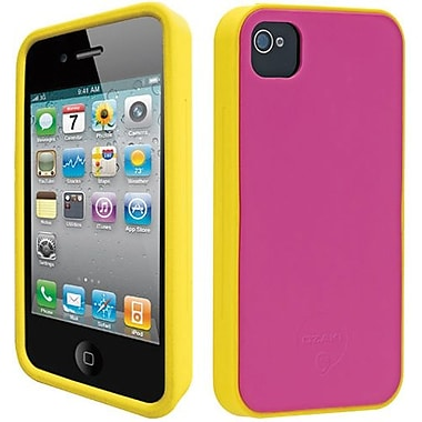 Ozaki® iCoat™ Candy Two Tone Skin Silicone Case For iPhone 4/4S