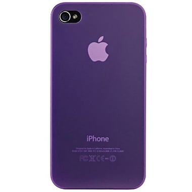 Ozaki® iCoat™ 0.4 Thin Light Invisible Ultra Slim Case For iPhone 4/4S, Purple