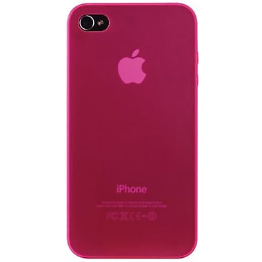 Ozaki® iCoat™ 0.4 Thin Light Invisible Ultra Slim Case For iPhone 4/4S, Pink