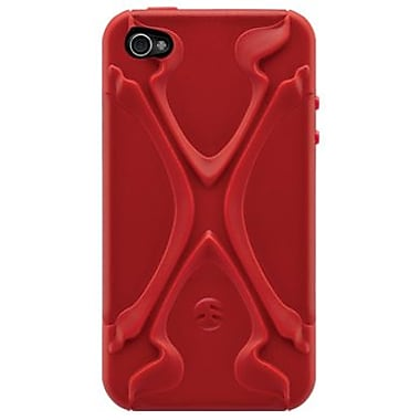 SwitchEasy™ CapsuleRebelX™ Hybrid Case For iPhone 4/4S, Red