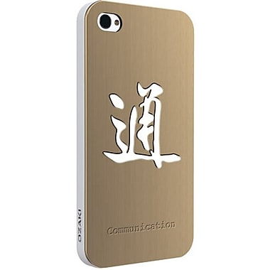 Ozaki® iCoat™ Good Life Zen Wisdom Communication Metal Case For iPhone 4/4S, Gold