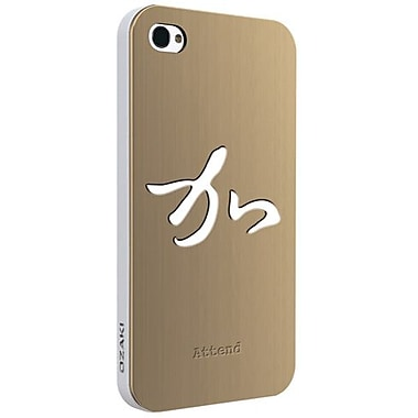 Ozaki® iCoat™ Good Life Zen Wisdom Attend Metal Case For iPhone 4/4S, Gold