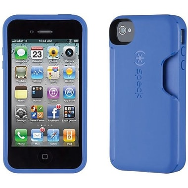 Speck® SmartFlex Card TPU Case For iPhone 4/4S, Cobalt