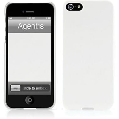 Agent18® SlimShield Slim Case For iPhone 5, White
