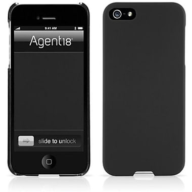 Agent18® SlimShield Slim Case For iPhone 5, Black