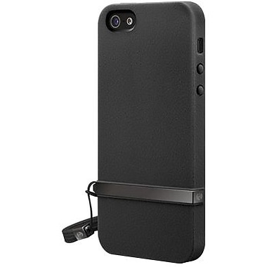 SwitchEasy™ Lanyard™ Hard Case For iPhone 5, Shadow Black