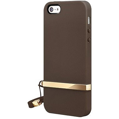 SwitchEasy™ Lanyard™ Hard Case For iPhone 5, Classic Brown