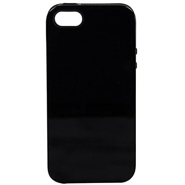 Sonix Inlay Onyx Hybrid Case For iPhone 5, Black/Black