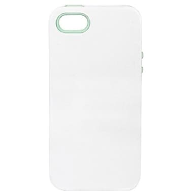 Sonix Inlay Santorini Hybrid Case For iPhone 5, White/Mint