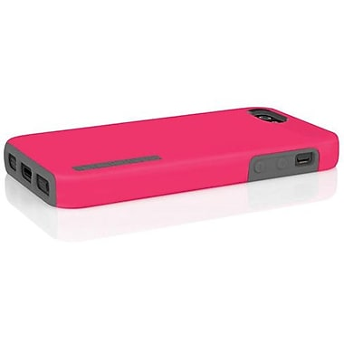 Incipio® DualPro Hard Shell Hybrid Case For iPhone 5, Cherry Blossom Pink/Charcoal Gray
