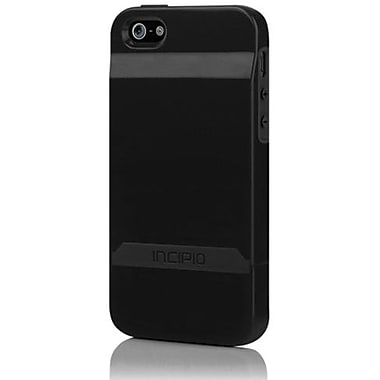 Incipio® Stashback Dockable Credit Card Case For iPhone 5, Obsidian Black