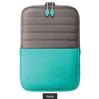 X-Doria SleeveStand Neoprene Sleeve For iPad Mini, Aqua