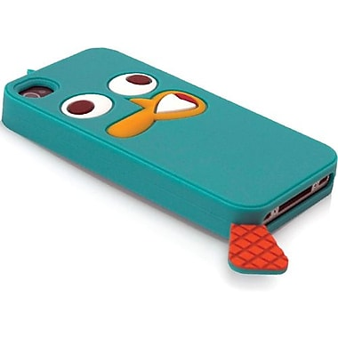 Disney® Perry Character Suit Silicone Case For iPhone 4/4S, Blue