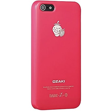 Ozaki® O!coat™ Strawberry Fruit Slim Case For iPhone 5, Pink