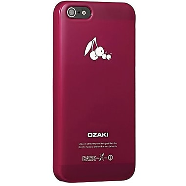 Ozaki® O!coat™ Cherry Fruit Slim Case For iPhone 5, Red