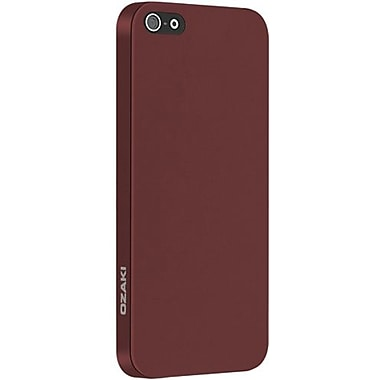 Ozaki® O!coat™ 0.3 Thin Light Tranquil Ultra Slim Case For iPhone 5, Red