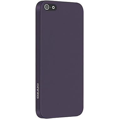 Ozaki® O!coat™ 0.3 Thin Light Tranquil Ultra Slim Case For iPhone 5, Purple