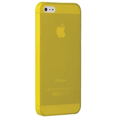 Ozaki® O!coat™ 0.3 Jelly Ultra Thin Case For iPhone 5, Yellow