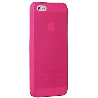 Ozaki® O!coat™ 0.3 Jelly Ultra Thin Case For iPhone 5, Pink