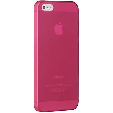 Ozaki® O!coat™ 0.3 Jelly Ultra Thin Case For iPhone 5, Red