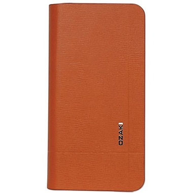 Ozaki® O!coat™ Vitality Aim Folio Leather Case For iPhone 5, Orange