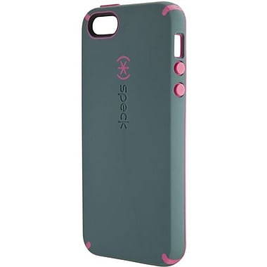 Speck® CandyShell Satin Rubberized Hard Case For iPhone 5, Bayou Blue/Raspberry Pink