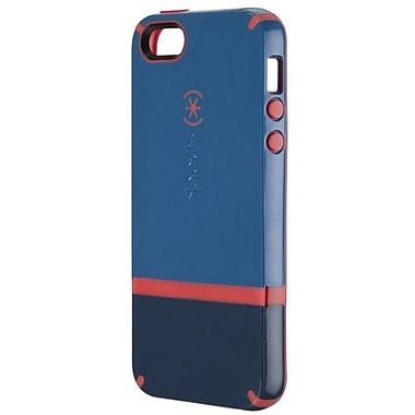 Speck® CandyShell Flip Rubberized Hard Case For iPhone 5, Harbor/Dark Harbor/Coral