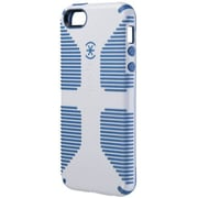 Speck® CandyShell Grip Rubberized Hard Case For iPhone 5, White/Harbor Blue