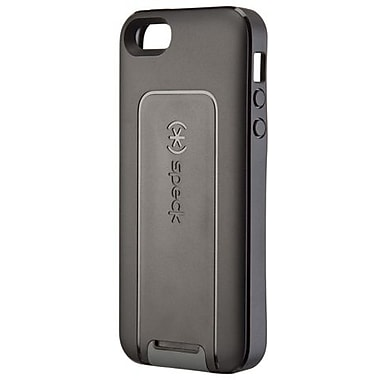 Speck® SmartFlex View TPU Case For iPhone 5, Black/Slate Gray