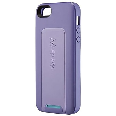 Speck® SmartFlex View TPU Case For iPhone 5, Grape Purple/Lavender Purple/Peacock Blue
