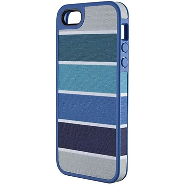 Speck® FabShell Hard Case W/Fabric For iPhone 5, Colorbar Arctic