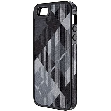 Speck® FabShell Hard Case W/Fabric For iPhone 5, Megaplaid Black