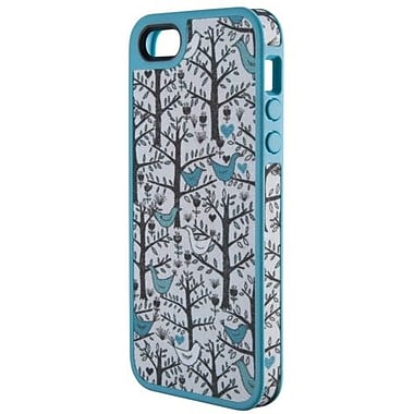Speck® FabShell Hard Case W/Fabric For iPhone 5, Lovebirds Teal