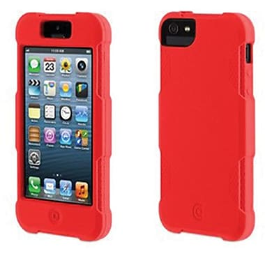 Griffin Protector Silicone Case For iPhone 5, Fluoro Fire