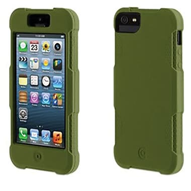Griffin Protector Silicone Case For iPhone 5, Olive
